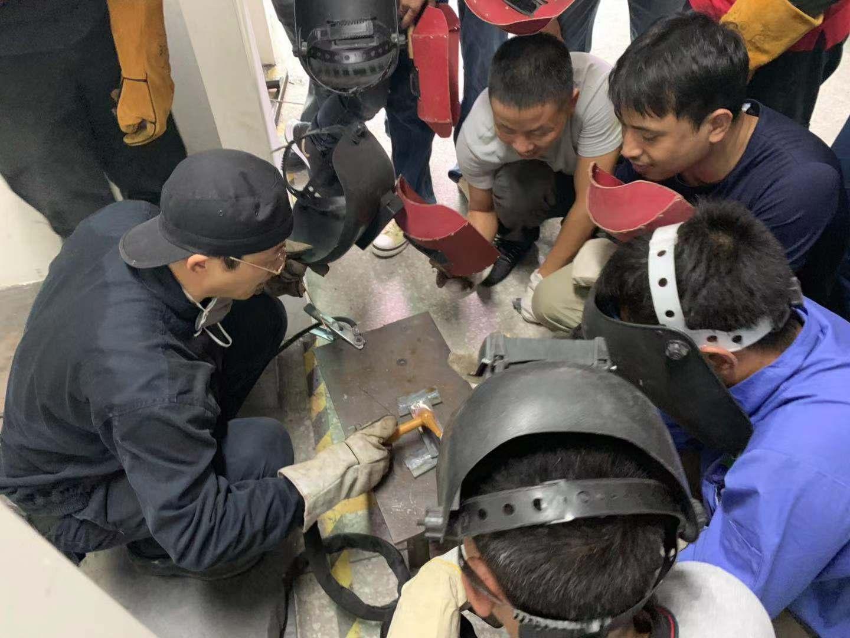 焊工操作培训班